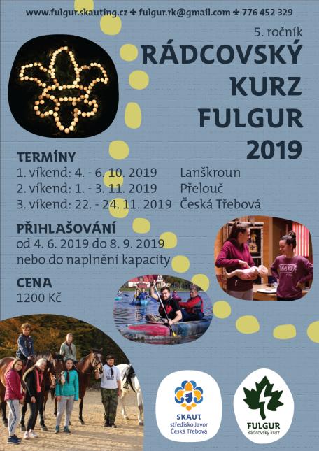 Letáček RK Fulgur 2018